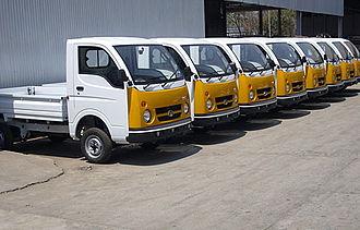 Mini truck - The Tata Ace was India's first mini truck