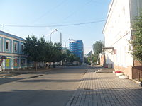 Tchernyshevskogo Street (Yekaterinburg), 1 and 2.JPG