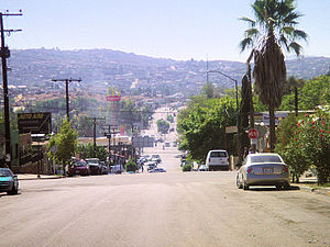 Tecate - Image: Tecate calle