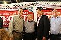 Ted Cruz, Rick Santorum, and Congressman Michael Burgess (7742716998).jpg