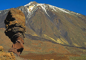 Teide - Teide and Roque Cinchado
