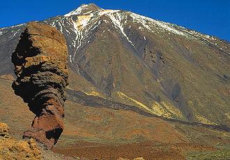 Teide - Teide and Roque Cinchado