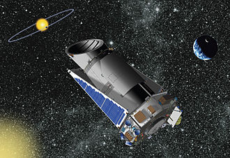 Extraterrestrial life - Image: Telescope Kepler NASA