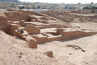 Tell Halaf - Part of the excavated ruins of Tell Halaf