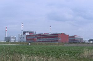 Temelín Nuclear Power Station - Image: Temelin Nuclear Power Station