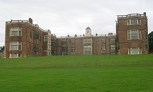 Temple Newsam - Temple Newsam House, front view