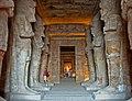 Temple of Rameses II, eight Osiris pillars.jpg