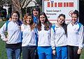 Tennis Club Faenza - serie A2 femminile 2016 - da sinistra Giulia Pasini - Agnese Zucchini - Mirko Sangiorgi - Alessia Ercolino - Chiara Arcangeli - Camilla Scala.jpg