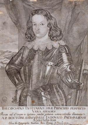 Teodósio, Prince of Brazil - Theodosius Lusitanis sive Princips Perfecti Vera Effigies; 1679.