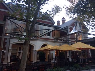 St George's House, Perth - Image: Terrace Hotel, Perth Frontage 3