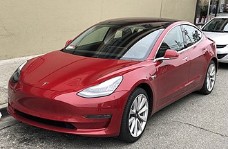 Electric car -  Tesla Model 3