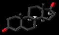 Testosterone molecule skeletal.png