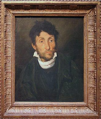 Museum of Fine Arts, Ghent - Portrait of a Kleptomaniac by Théodore Géricault
