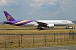 Thai Airways, HS-TKK, Boeing 777-3AL ER (44389249471).jpg