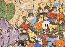 The Battle between Bahram Chubina and Sava Shah LACMA M.2009.44.1 (4 of 9).jpg