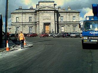 Dublin Broadstone railway station - The facade of Broadstone station