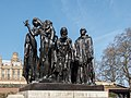 The Burghers of Calais Statue, Houses of Parliament, London SW1 (geograph 4897944).jpg