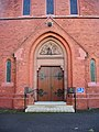 The Catholic Church of St Marie of the Annunciation, Standish, Doorway - geograph.org.uk - 951588.jpg