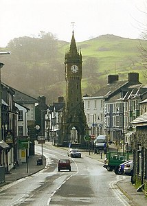 The Clock Tower, Machynlleth - geograph.org.uk - 561320.jpg