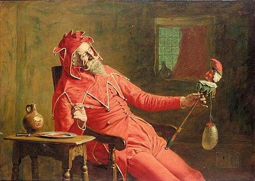 The Court Jester by John Watson Nicol