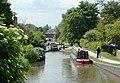 The Coventry Canal at Glascote Locks, Tamworth - geograph.org.uk - 1159543.jpg