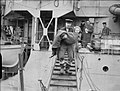 The Evacuation of Norwegian Civilians From Soroy Island by the Royal Navy, 27 February 1945 A27489.jpg