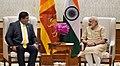 The Foreign Minister of Sri Lanka, Mr. Ravi Karunanayake calls on the Prime Minister, Shri Narendra Modi, in New Delhi on June 06, 2017.jpg