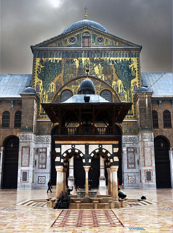 FileThe Great Umayyed Mosque of Damascus Syria western