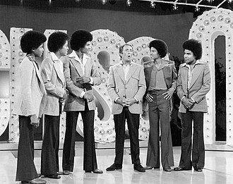 The Jacksons (TV series) - Randy, Marlon, Jackie, Joey Bishop, Michael and Tito (1976)