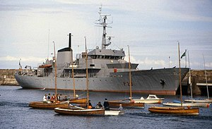 Irish Naval Service - LÉ Deirdre, the first purpose built ship commissioned by the Irish Naval Service