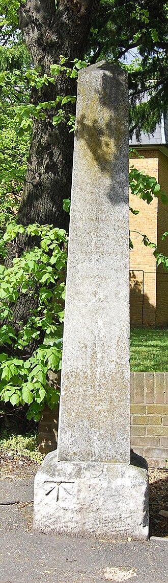 Leytonstone - The stone and obelisk