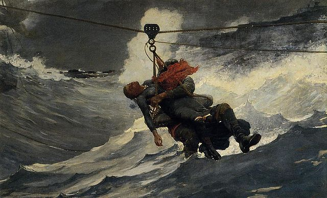 The Life Line 1884 Winslow Homer