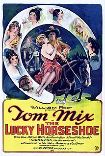 <i>The Lucky Horseshoe</i> 1925 film