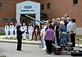 The Newport Navy Choristers sing the Navy Hymn during a 9-11 commemoration ceremony at Naval Station Newport, R.I., Sept 140911-N-PX557-213.jpg