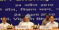 The Prime Minister, Dr. Manmohan Singh at the National Panchayati Raj Diwas, in New Delhi on April 24, 2010.jpg