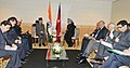 The Prime Minister, Dr. Manmohan Singh meeting the Prime Minister of Nepal, Mr. Baburam Bhattarai, on the sidelines of the UN Conference on Sustainable Development (Rio+20), at Rio de Janeiro, Brazil on June 21, 2012 (2).jpg