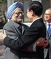 The Prime Minister, Dr. Manmohan Singh meeting the South Korean President, Mr. Lee Myung-bak, in Seoul on March 25, 2012 (1).jpg