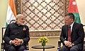 The Prime Minister, Shri Narendra Modi with the King of Jordan His Majesty Abdullah II Bin Al-Hussein, at Amman, Jordan on February 09, 2018 (3).jpg