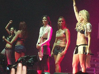 Nicole Scherzinger - The Pussycat Dolls performing on tour in 2006