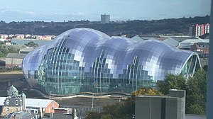Blobitecture - The Sage Gateshead building by Norman Foster, 2004