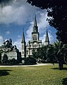 The Saint Louis Cathedral and Jackson Square, New Orleans, French Quarter.jpg