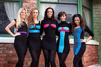 The Saturdays - The Saturdays at Real Radio launch in 2009.