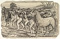The Servants Drive a Herd of Yahoos into the Field, from Gulliver's Travels MET DP826550.jpg