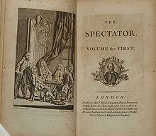 spectator essays addison and steele