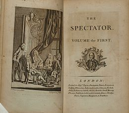 the spectator  1788 edition of the collected edition of addison and steele s the spectator