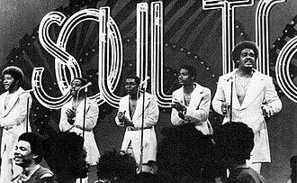 The Stylistics - Image: The Stylistics on Soul Train 1974