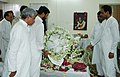 The Union Minister of Chemicals & Fertilizers and Steel, Shri Ram Vilas Paswan paying tribute to the mortal remains of the former Prime Minster Shri Chandra Shekhar, in New Delhi on July 08, 2007.jpg