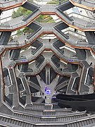 The Vessel (top-down view), Hudson Yards, New York City, July 2019.jpg