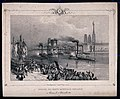The arrival of the remains of Napoleon Bonaparte in the harbour of Rouen.jpg