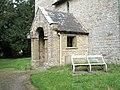 The church porch at Acton Scott - geograph.org.uk - 1441928.jpg